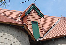 Clay Shingles Roof